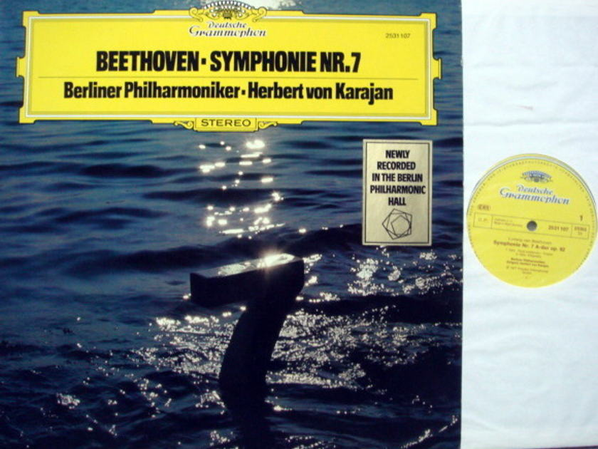 DG / KARAJAN, - Beethoven Symphony No.7, MINT!