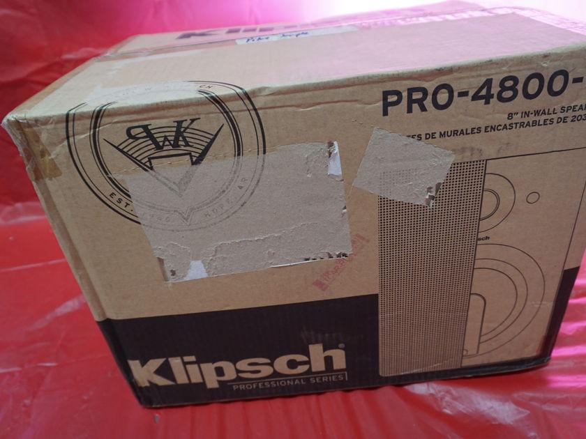 Klipsch PRO-4800-W In Wall Speakers