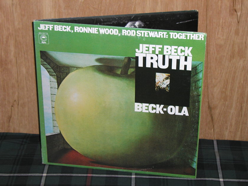 Jeff Beck TRUTH/BECK-OLA - - Double album in Gatefold Cover Epic BG 33779