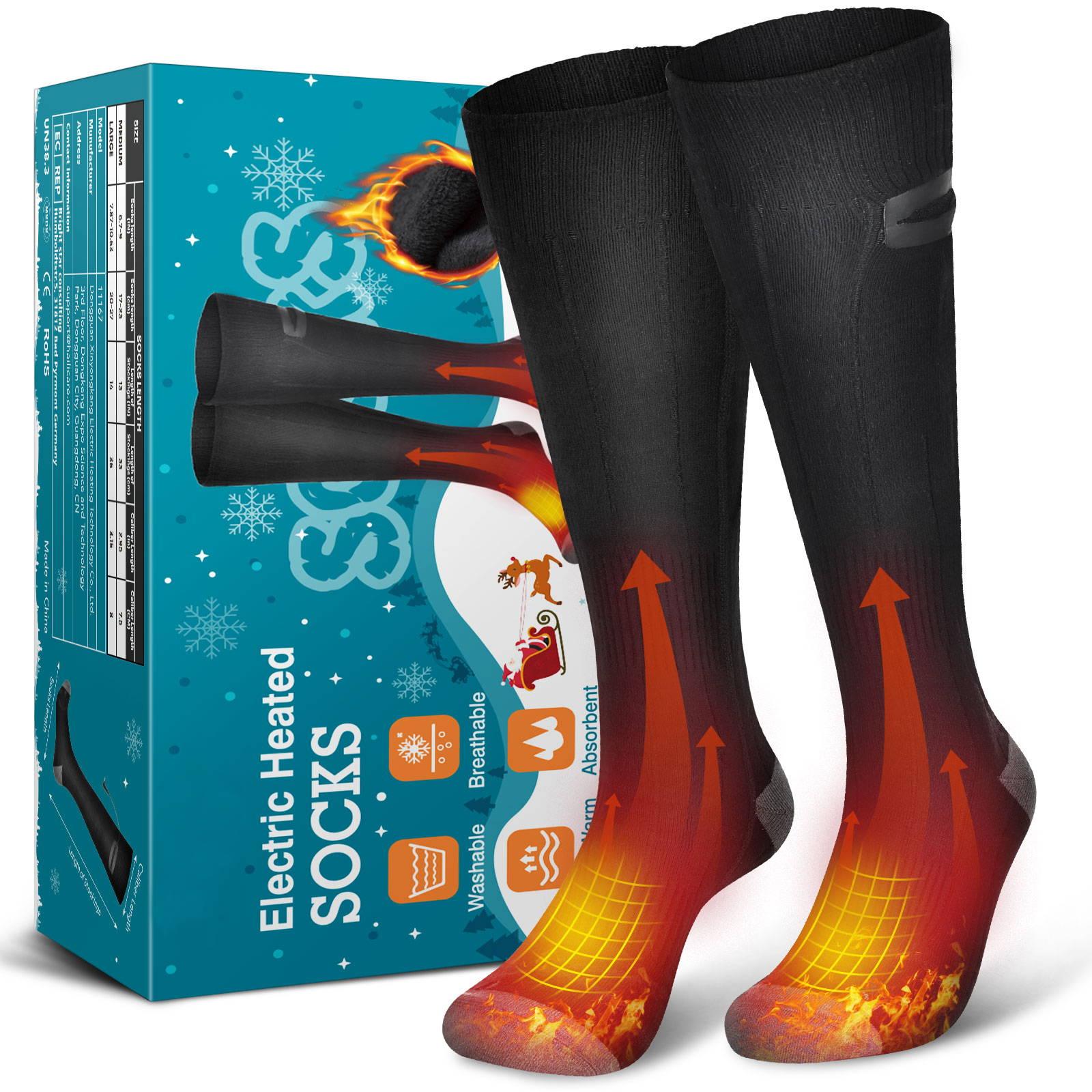 Heated Socks , Rechargeable Socks