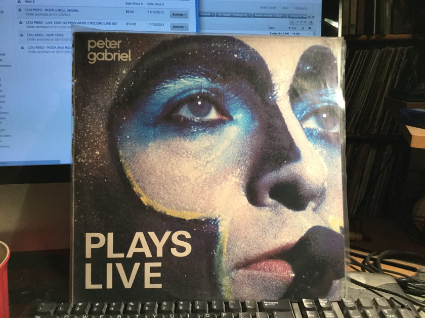 Peter gabriel - PLAYs live 2 album set live