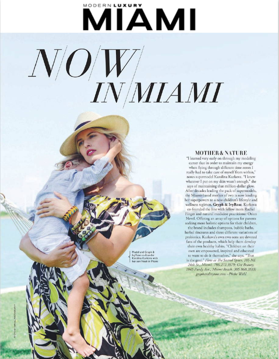 Modern Luxury Miami Article