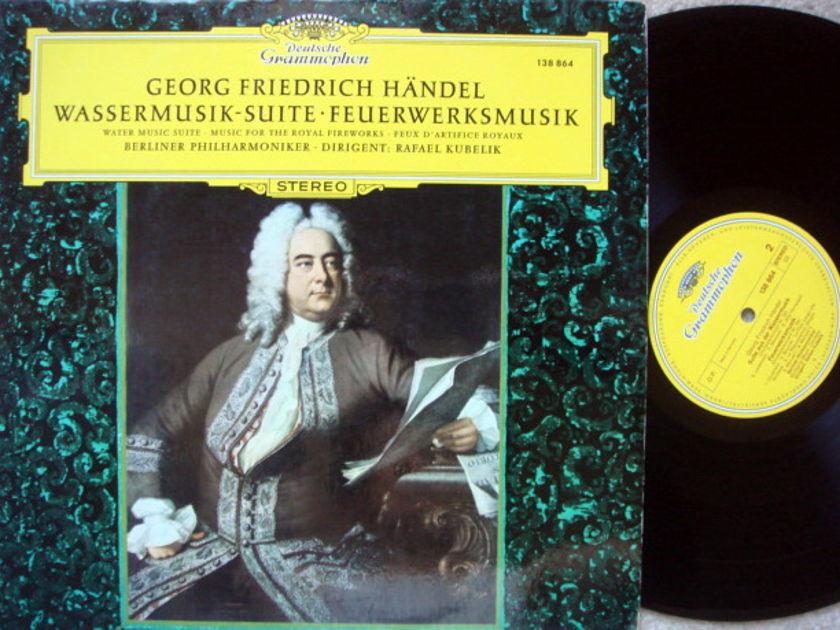 DG / Handel Water Music, Royal Fireworks, - KUBELIK/BPO, MINT!