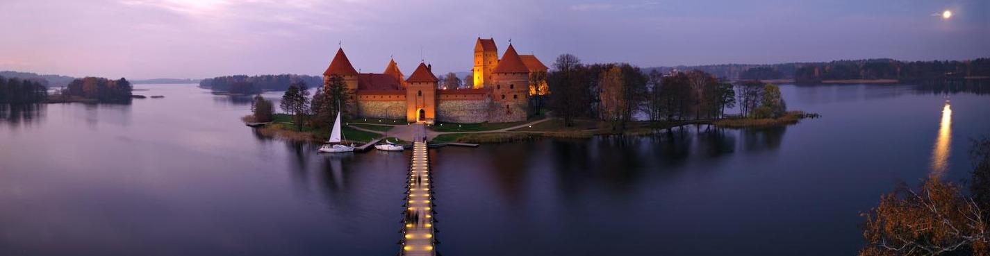 Вильнюс и Тракай - современная и древняя столицы Литвы