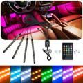 Eclairage Led multicolore  intérieur pour voiture