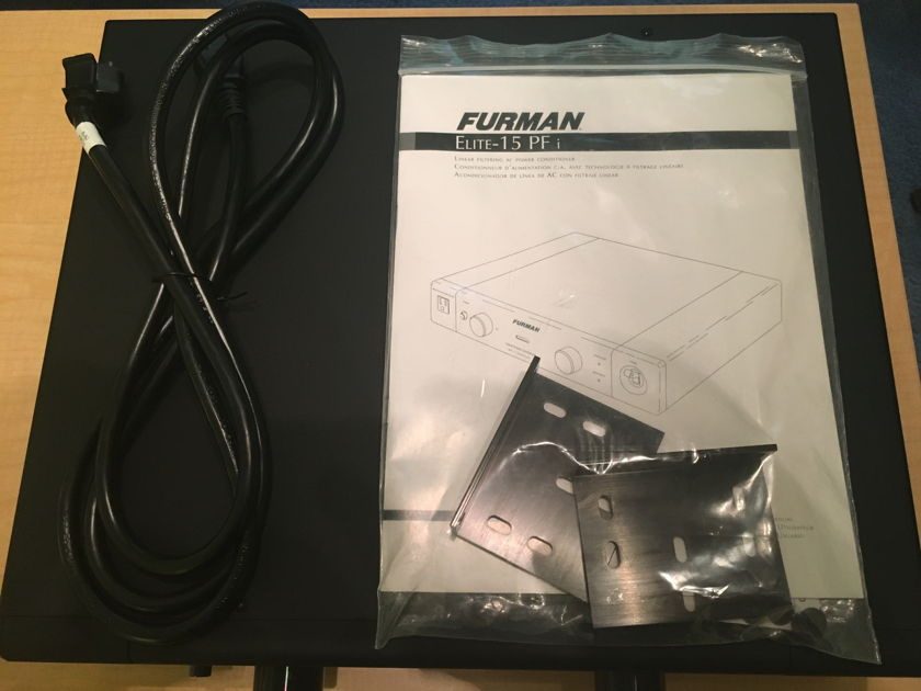 Furman Elite-15 PFi Power line conditioner and surge protector