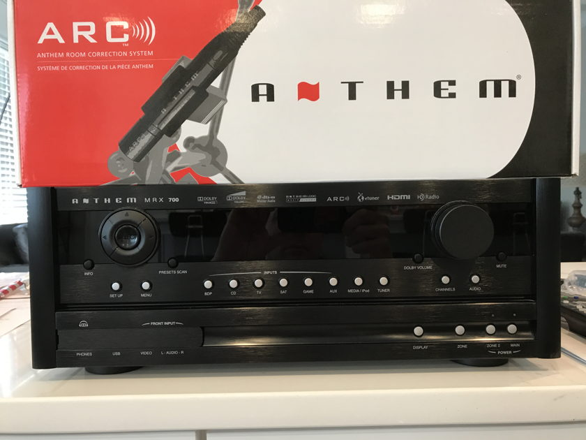 Anthem MRX 700 Home Theater Receiver