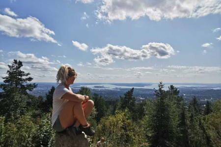 Hike in Oslo with Panoramic City-view