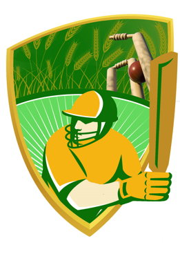 St Mary's Cricket Club (Wimmera Mallee Cricket Association) Logo