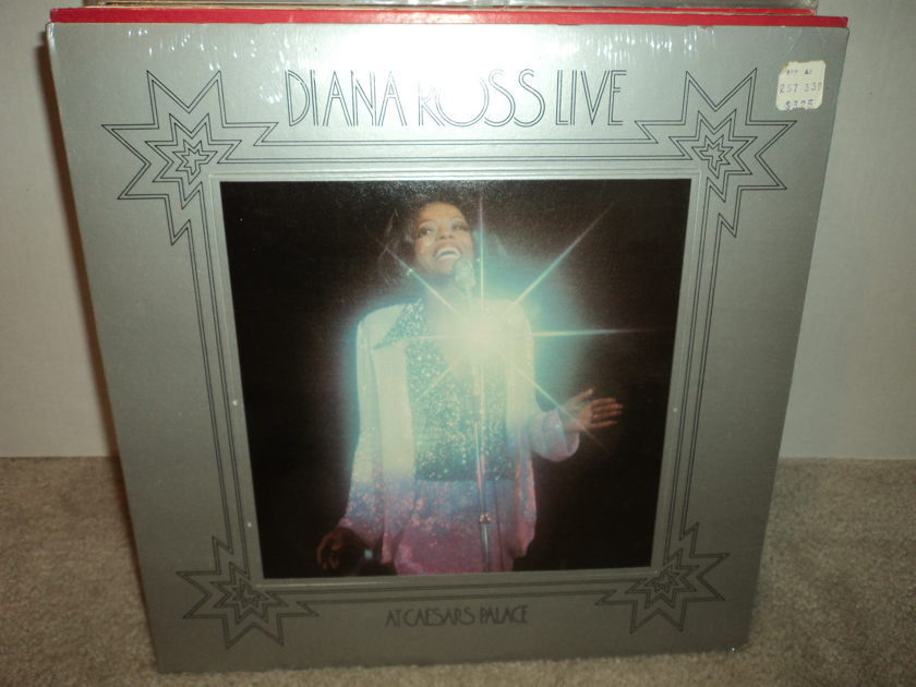 Diana Ross (SEALED) - Live at Caesars Palace Brand New
