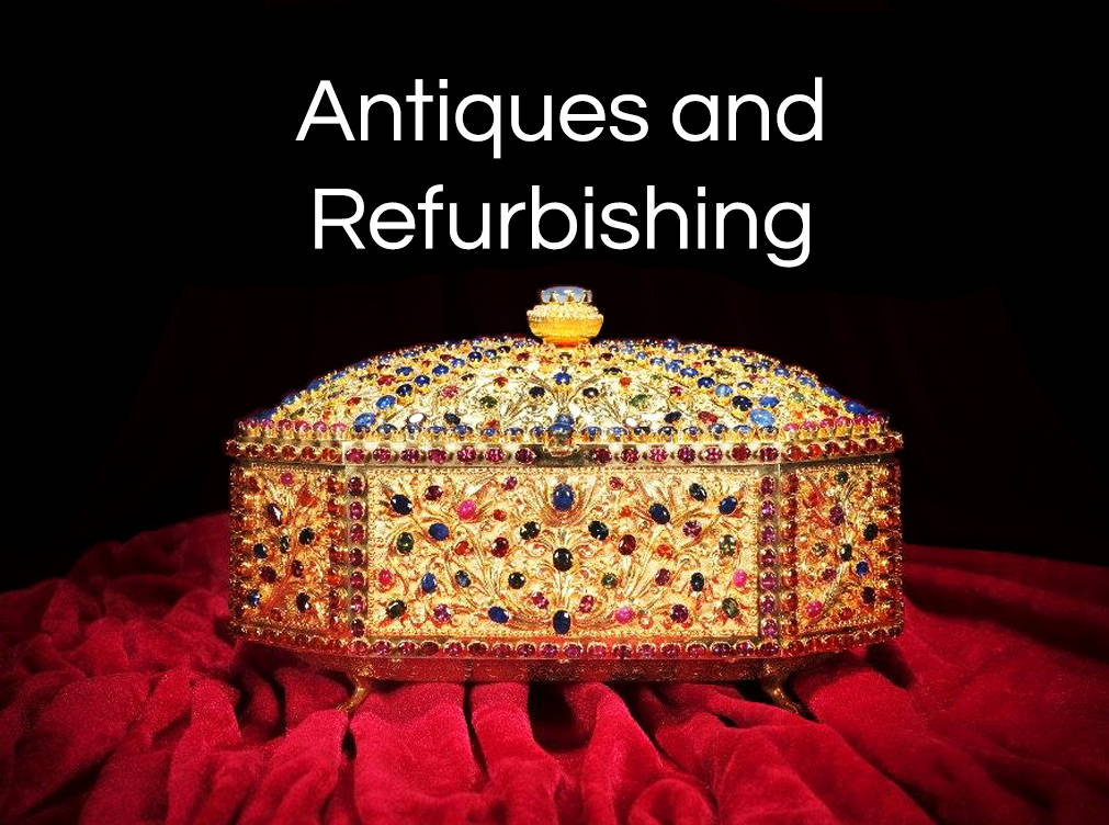 YVes Lemay antiques and refurbishing banner