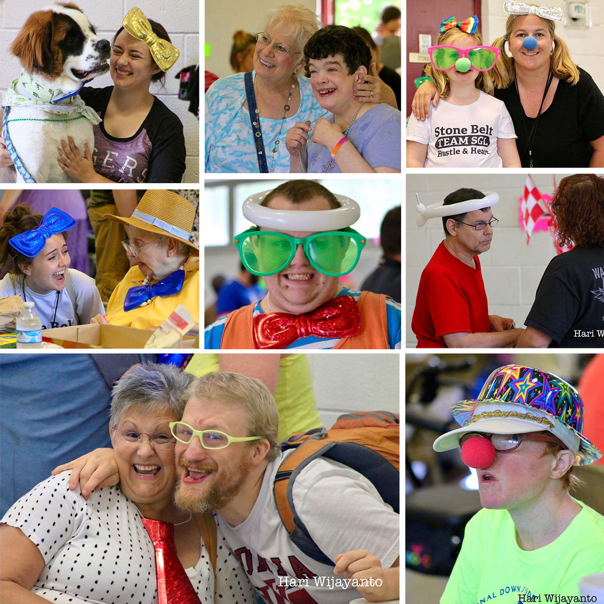 Supported Group Living hosted a carnival for clients, staff, and families
