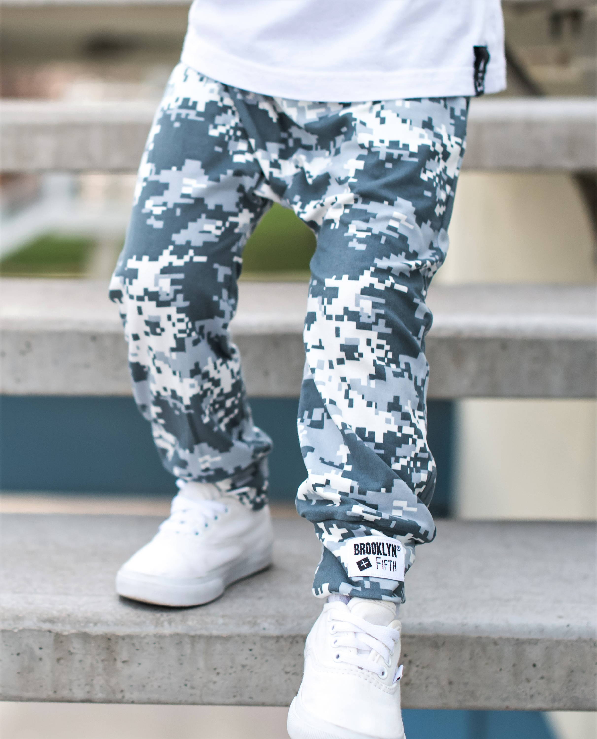 Brooklyn + Fifth Toddler Camo Harem Pants. Stylish Toddler Pants. Camo Pants for boys. Soft toddler Pants. Infant Camo Pants. Baby Pants. Baby Camo Pants. Kids Pants. Made in the USA!