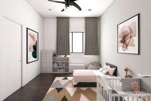 five-by-rizny-sdn-bhd-minimalistic-scandinavian-malaysia-selangor-bedroom-kids-3d-drawing-3d-drawing