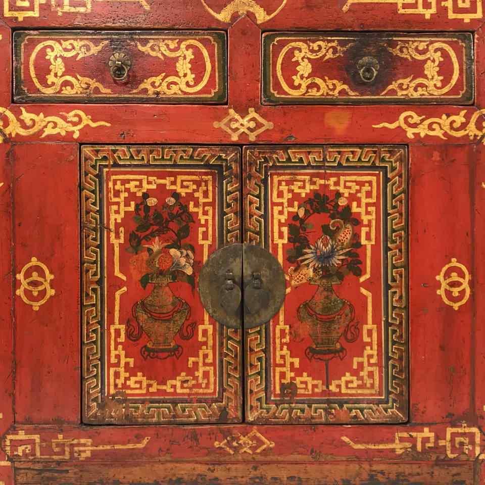 Shop Mongolian Antique Furniture - Mongolian Sideboards & Cabinets | Indigo Antiques