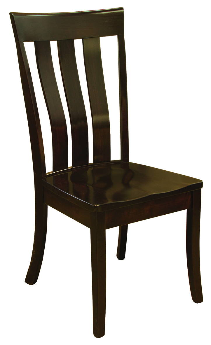 Curlew Solid Wood, Handcrafted Kitchen Chair or DIning Chair from Harvest Home Interiors Amish Furniture