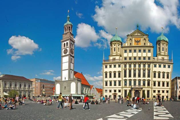 Аугсбург – римский город в Баварии