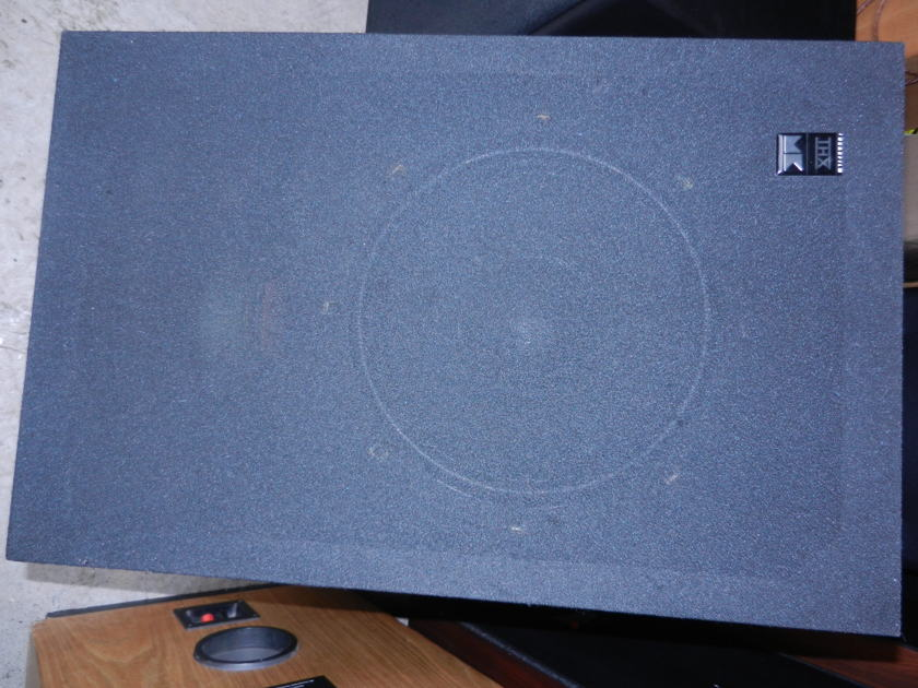 """M&K Miller & Kreisel MX-5000 mkII THX ULTRA Dual 12"""" Sub 400 watts TOL"""