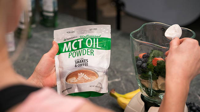 mct oil powder is great for keto diet