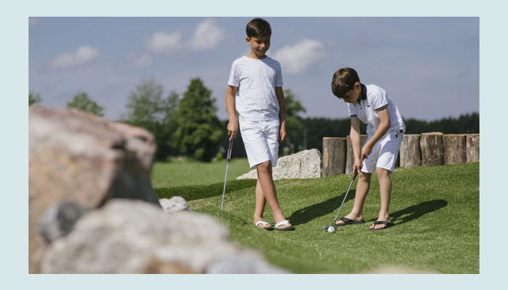 bester geburtstagde wildwakeski stonehill adventure golf aussicht wiese stein kinder