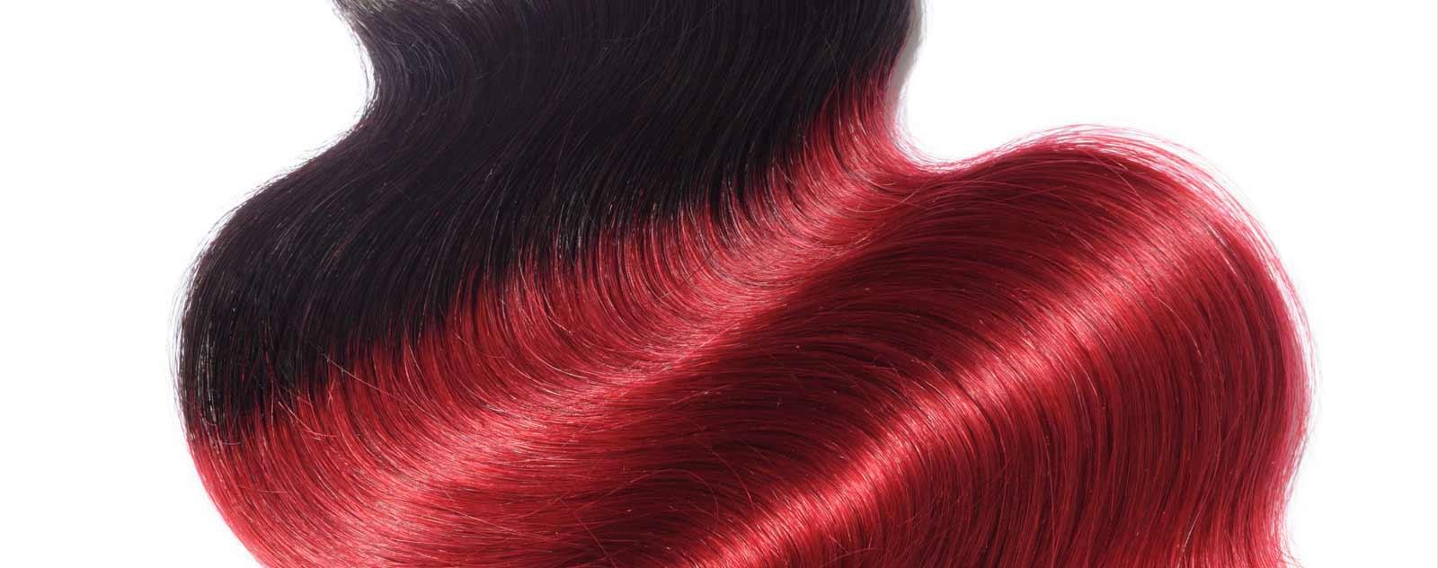 Tissage Rouge Cheveux