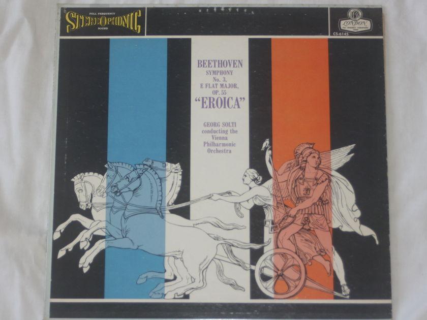"Georg Solti - Beethoven Symphony No. 3 ""Eroica"" London Blueback CS 6145"