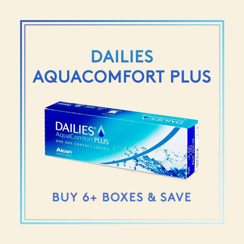 Dailies Aquacomfort Plus from Alcon