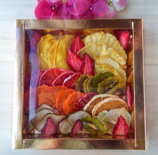 """Подарочный набор """"Ассорти фруктовых чипсов"""""""