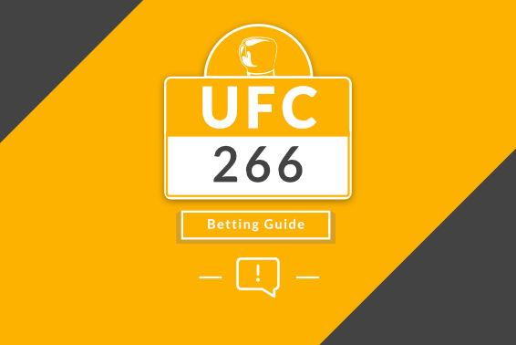 UFC 266 Betting Picks