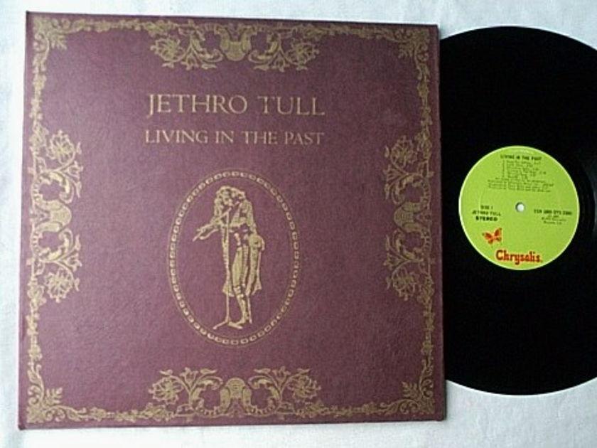JETHRO TULL 2 LP set--LIVING IN THE PAST- - rare orig 1972 album--Chrysalis