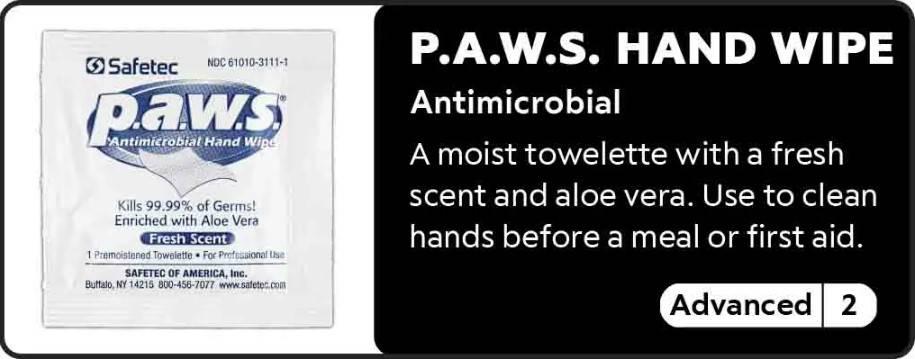 P.A.W.S Hand Wipe