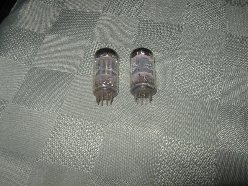Telefunken 12ax7  / ecc83 truly matched tubes pair