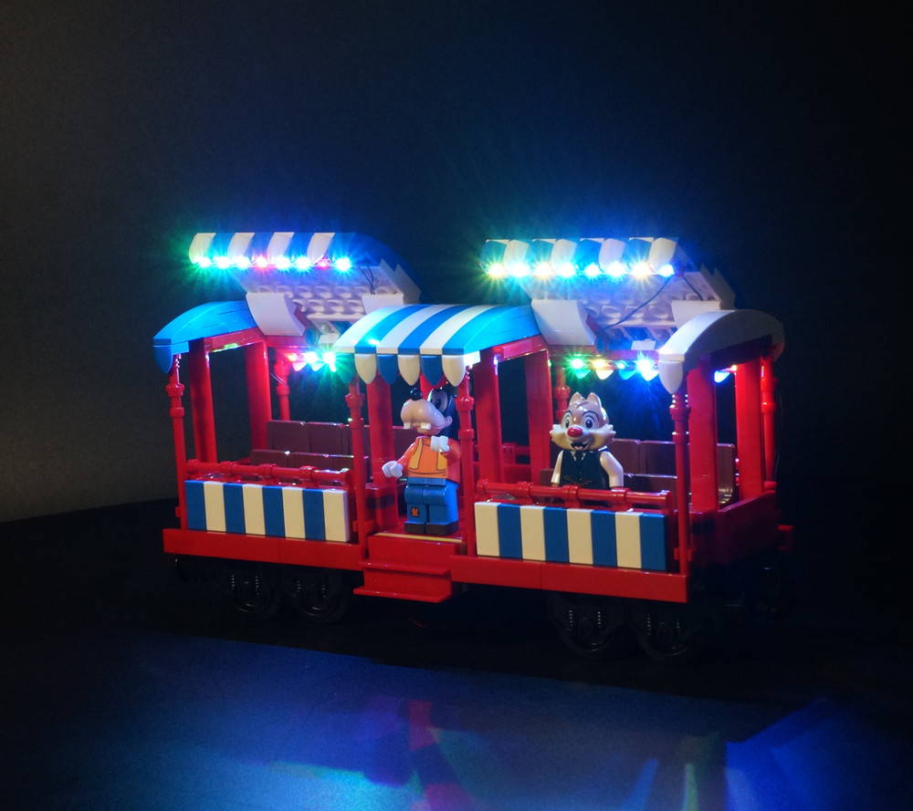 LEGO Disney Train And Station 71044 Light Kit