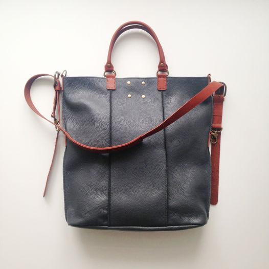 Кожаная сумка-рюкзак Reformer Gray