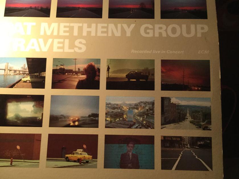 Pat Metheny  - TRAVELS 2 Record live set 1983 era