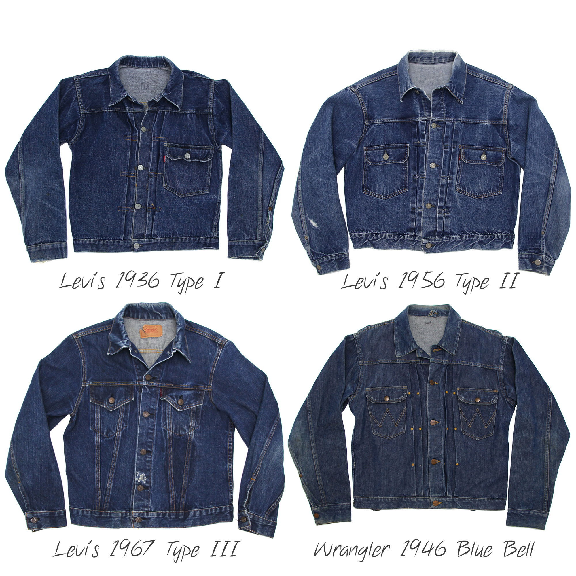 Shop The Vintage Jean Jacket Collection