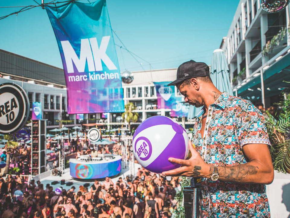 Tickets MK pool party Ibiza rocks, Marc Kinchen
