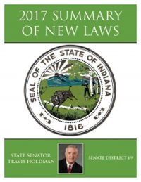 2017 Summary of New Laws - Sen. Holdman
