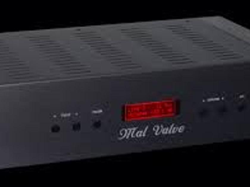 Malvalve Head Amp 3 World's best universal headphone amplifer For Stax, Audeze etc...