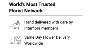 Interflora network