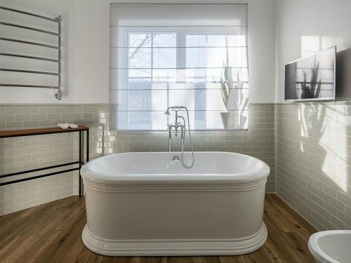 Come integrare in casa accessori per il bagno shabby chic