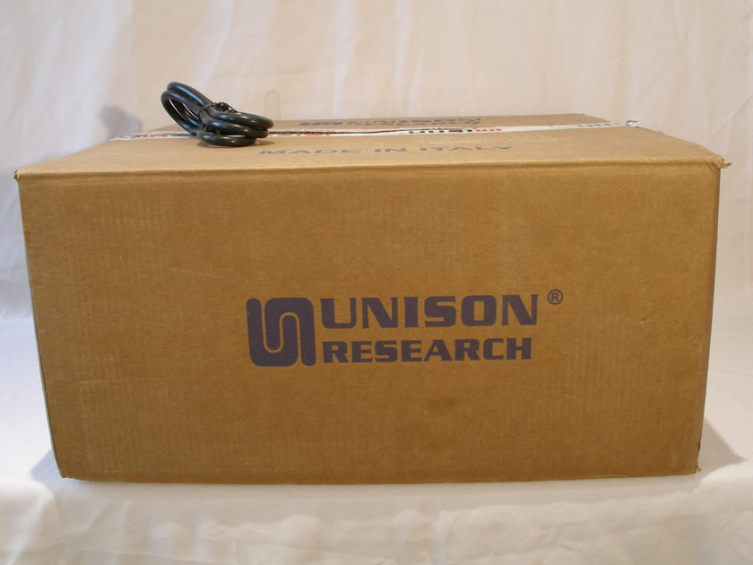 Unison Research Unico DM MKII Hybrid Stereo Power Amp
