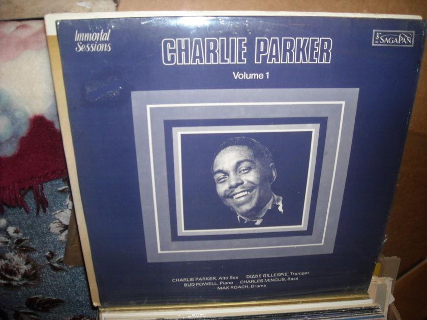 (lec) Charlie Parker -  Immortal Sessions Vol I SagaPan  LP (c)