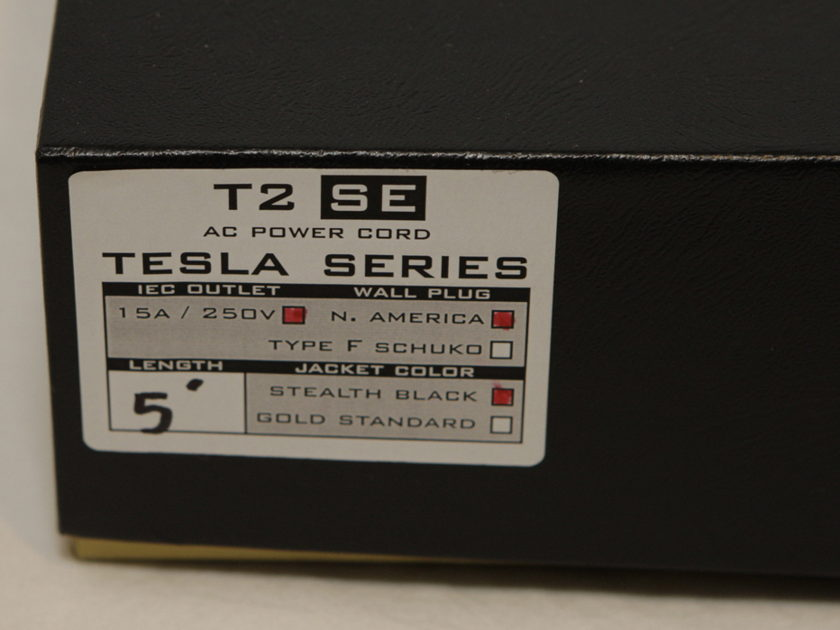 Synergistic Research Tesla T2 Power Cord