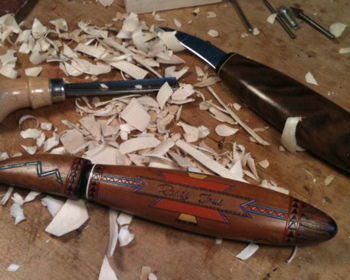 Wood Carving Magic Show and Sale