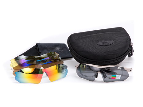 Shooter Glasses Kit & Interchangeable Lenses