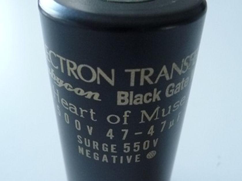 Black gate WKZ 500 V 47uf + 47uf haert of muse, used, rare.