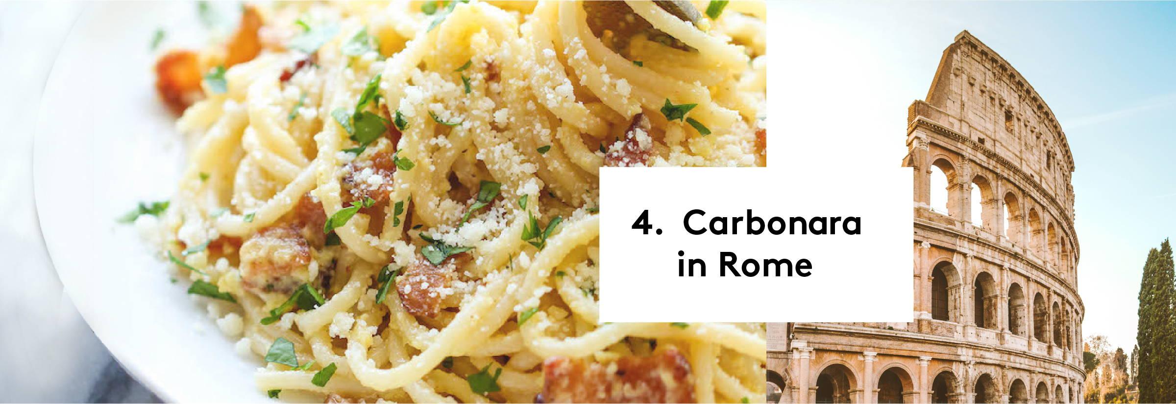 4. Carbonara in Rome