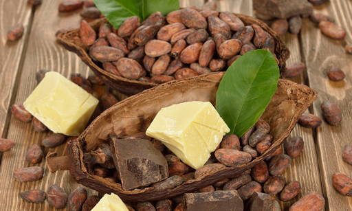 Cocoa Rich in elements, polyphenols and caffeine which are valuable