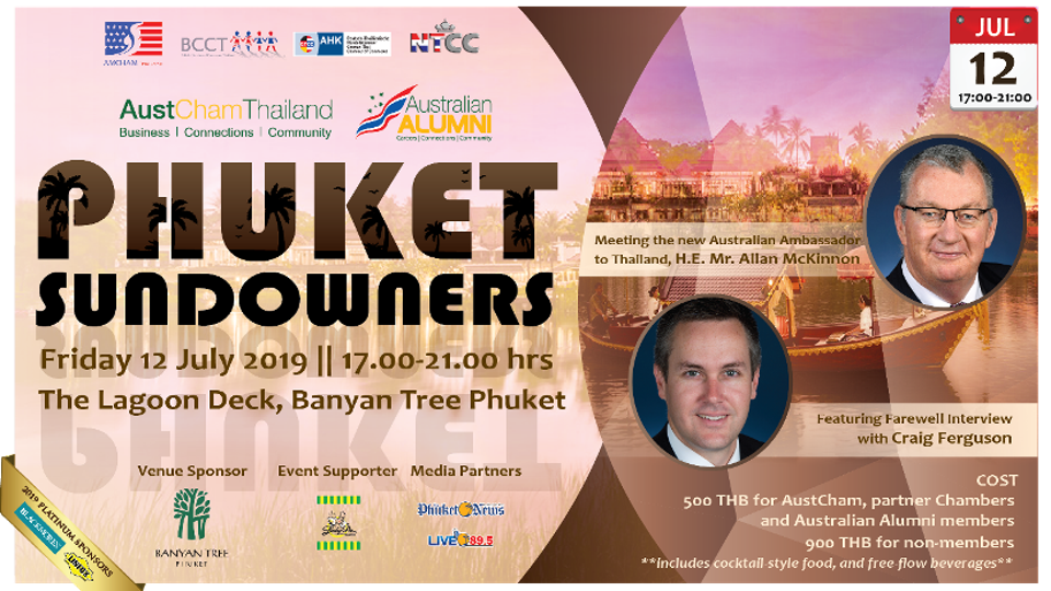 NTCC: Joint Phuket Sundowners hosted by AustCham